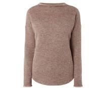 Pullover aus Wollmischung - meliert