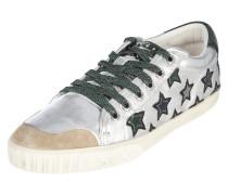 Sneaker 'Majestic' aus Leder in Metallicoptik