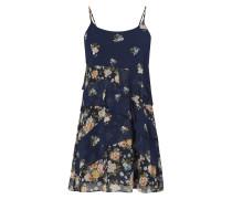 Kleid in A-Linie mit floralem Muster