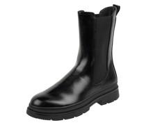 Chelsea Boots in Leder-Optik