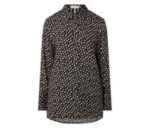 Bluse mit Allover-Muster Modell 'Cititan'