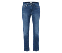 Stone Washed Feminine Fit 5-Pocket-Jeans