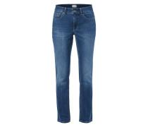 Stone Washed Feminine Fit 5-Pocket-Jeans