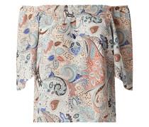 Blusenshirt mit Carmen-Ausschnitt