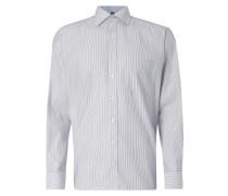 Comfort Fit Business-Hemd mit Streifenmuster
