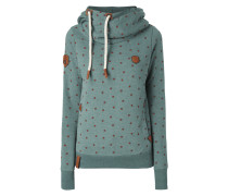 Hoodie mit Allover-Muster