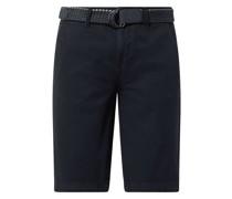 Regular Fit Chino-Shorts aus Baumwolle Modell 'Craig'