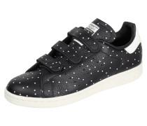 Sneaker aus Leder mit Punktemuster