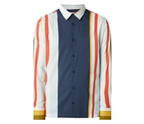 Regular Fit Freizeithemd aus Bio-Baumwoll-Modal-Mix Modell 'Morgan'