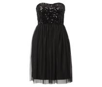 Kleid mit Pailletten am Oberteil