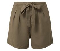 Shorts aus Lyocell Modell 'Mia'