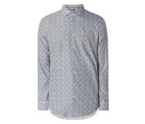 Regular Fit Business-Hemd aus Twill 'Performance Shirt'