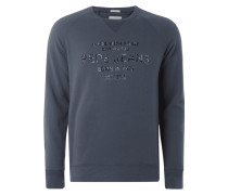 Slim Fit Sweatshirt mit Logo-Print