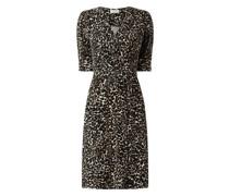 Kleid mit Animal-Print Modell 'Maru'