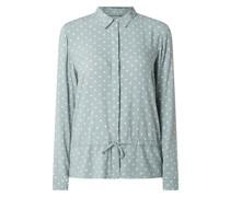 Bluse mit Polka Dots Modell 'Ellicia'