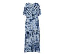 PLUS SIZE Kleid aus Leinen-Viskose-Mix Modell 'Niklos'