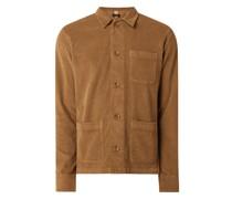 Jacke aus Cord Modell 'Cistation'