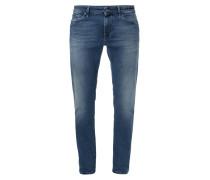 Stone Washed 5-Pocket-Jeans