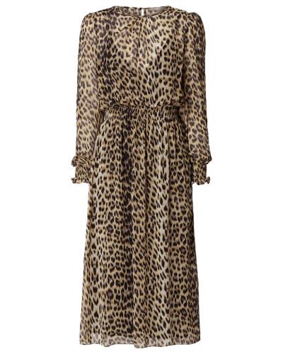 Kleid mit Leopardenmuster