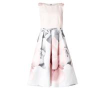 Kleid mit Rosenmotiv und Zierschleifen