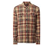 Slim Fit Freizeithemd aus Baumwolle Modell 'Natsu'