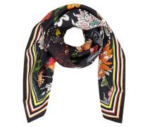 Tuch aus Seide mit floralem Muster