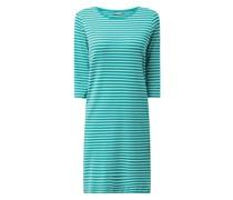 Jerseykleid mit Streifenmuster Modell 'Adrina'