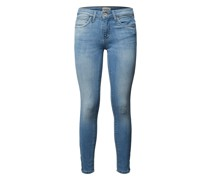 Skinny Fit Jeans mit Stretch-Anteil Modell 'Kendell'