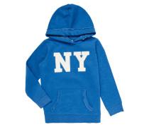 Hoodie mit New York-Aufnäher
