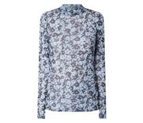 Longsleeve mit floralem Muster Modell 'Hamish'