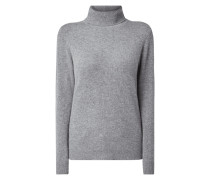 Rollkragen-Pullover aus Kaschmir