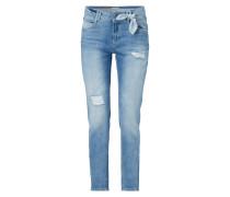 Boyfriend Fit Jeans im Destroyed Look