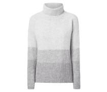 Rollkragen-Pullover mit überschnittenen Schultern