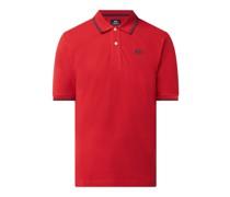 Regular Fit Poloshirt aus Baumwolle