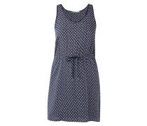 Kleid aus Lyocell mit Allover-Muster