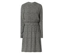 Kleid mit Allover-Muster Modell 'Lita'