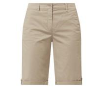Chino-Shorts mit Stretch-Anteil Modell 'Neila'