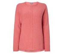 Pullover aus Baumwolle mit Raglanärmeln