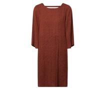Tailliertes Kleid mit Raffungen Modell 'Kinsley'