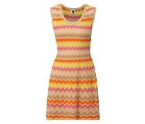 Kleid mit Zickzack-Muster