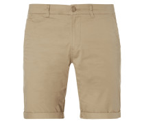 Slim Fit Chinoshorts aus Baumwolle