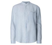 Tailored Fit Freizeithemd mit Stehkragen