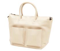 Handtasche in Lederoptik
