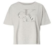 Crop-Shirt mit Logo-Print