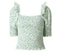 Blusenshirt aus Bio-Baumwolle Modell 'Filo' - gesmokt