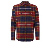 Tailored Fit Flanellhemd mit Brusttaschen