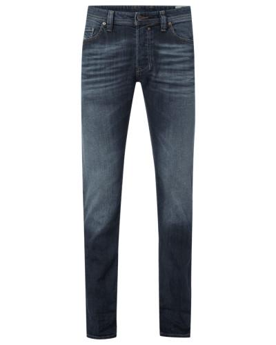 Vintage Washed Regular Slim Fit Jeans