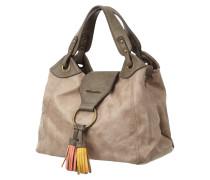 Handtasche mit Zierquasten