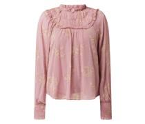 Blusenshirt aus Viskose Modell 'Mories'