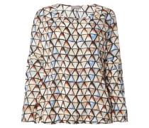 PLUS SIZE - Bluse mit grafischem Muster